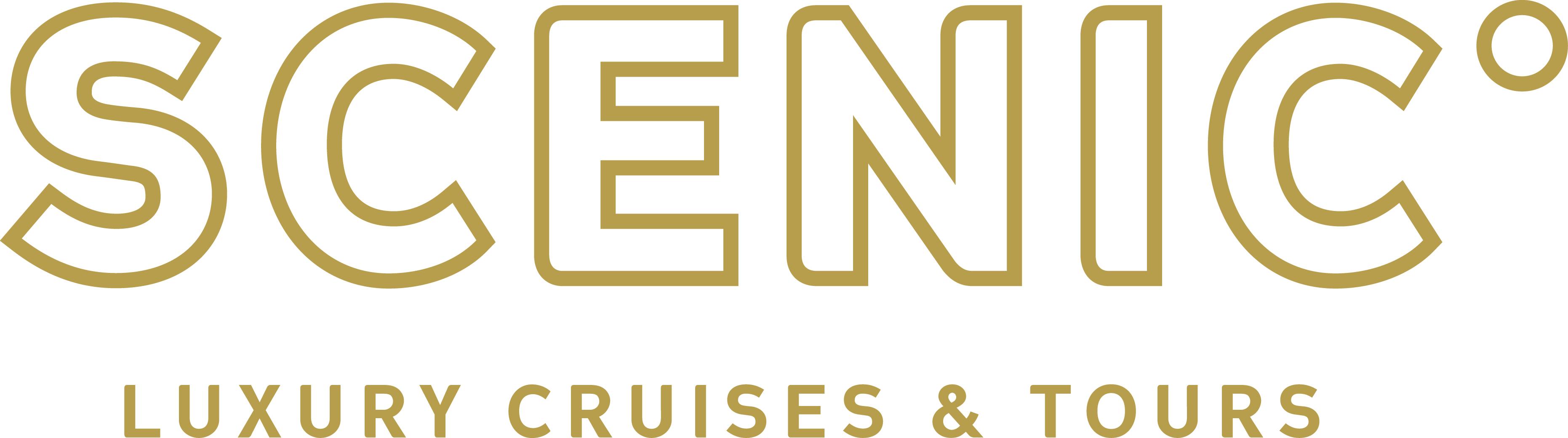 Scenic Logo Gold CMYK Tagline