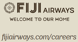 Fiji Airways job ad logo